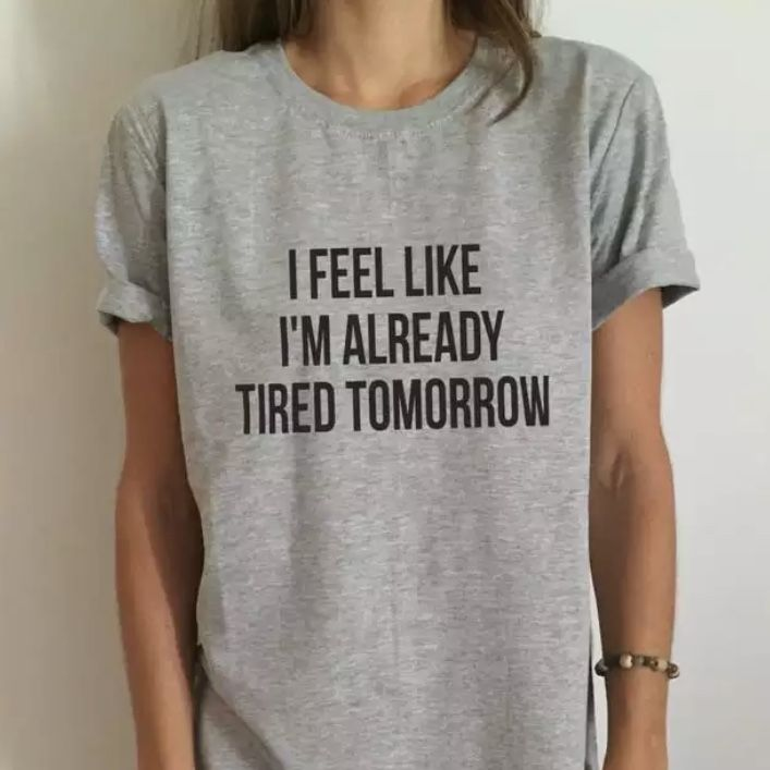 ALREADY TIRED T-SHIRT
